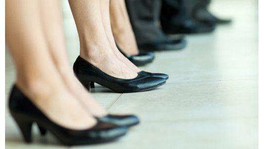 Frauen holen beim Gehalt auf - langsam.