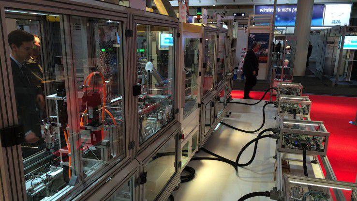 """Das Pilotprojekt """"Smart Factory"""" des DFKI"""