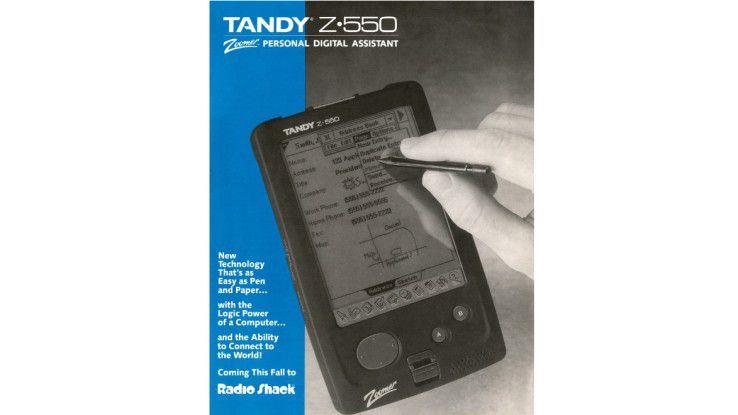 Der Tandy Z-550 von radioShack