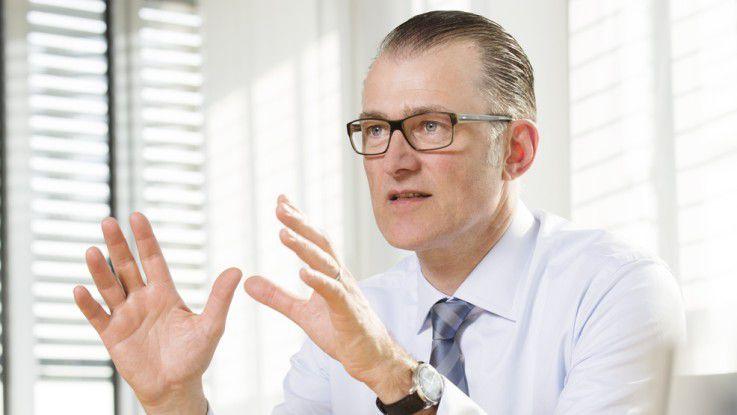 Stefan Hansen, Vorstandsvorsitzender der Lufthansa Systems AG