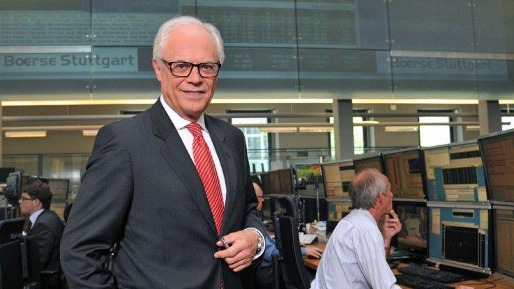 Christoph Lammersdorf, Geschäftsführungs-Vorsitzende der Boerse Stuttgart Holding GmbH und IT-Verantwortliche der Stuttgarter Börse