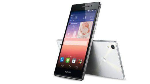 Das Huawei Ascend P7.