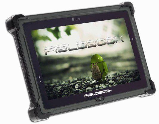 Bei Ruggedized-Tablets wie dem Fieldbook E1 hat sich Android im Business bereits durchgesetzt.