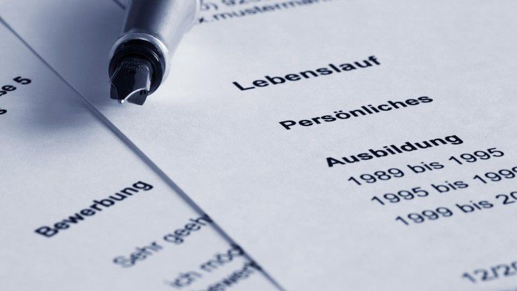 Ein reiner Lebenslauf reicht bei Bewerbungsunterlagen im SAP-Bereich nicht. Hier ist zusätzlich eine Projektliste gefordert.