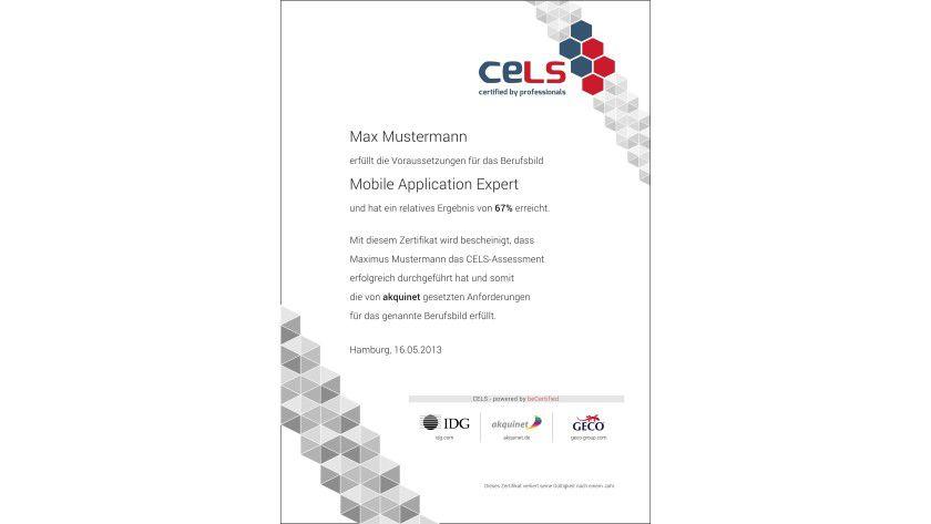 Das Ziel des neuen CELS-Zertifikats: praxis- und berufsnah zertifizieren und dabei besonders die Projekterfahrungen der Autoren einfließen lassen.