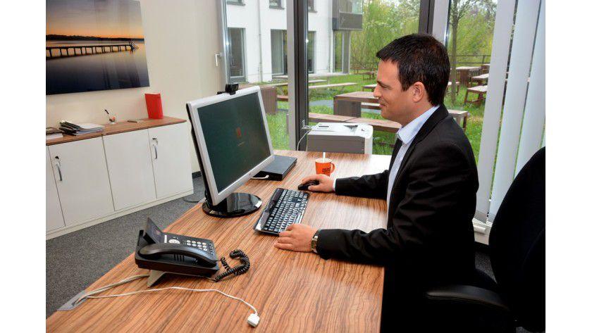 Jochen Werling, CIO bei SIXT, hat Microsoft Lync an 6.000 Arbeitsplätzen eingeführt, und arbeitet auch selber damit.