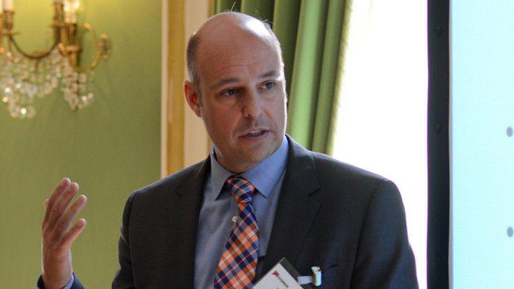 """RWE-CIO Andreas Gillhuber: """"Man kann gezielt Projekte suchen, in denen sich der Mitarbeiter weiterentwickelt und bei denen er gezwungen wird, aus seiner Komfortzone herauszugehen, ohne ihn zu überfordern."""""""