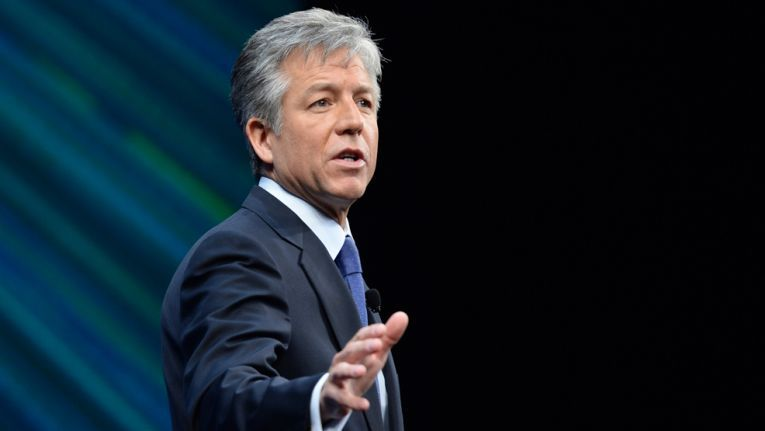 Vor der New Yorker Börse haute SAP-Chef McDermott bei der Produktvorstellung groß auf die Pauke.