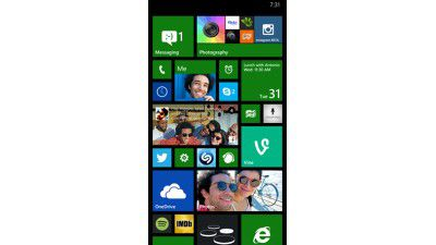 Windows Phone 8.1 Screenshots - Foto: Microsoft