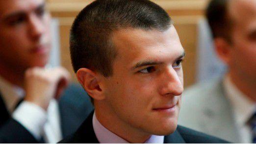 Lukas Bayer, Jumio, hat das Hobby zu seinen Beruf gemacht: Der 25jährige Softwareentwickler testet Apps im Job und privat.