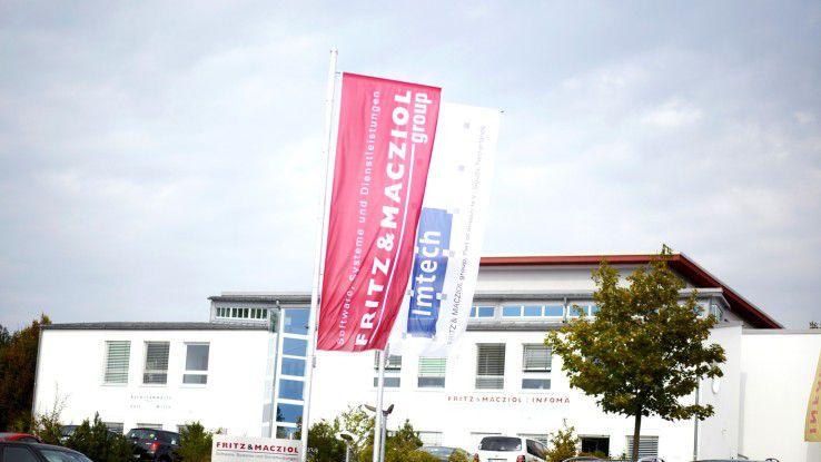 Zentrale von Fritz & Macziol in Ulm