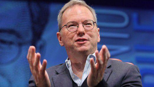 Eric Schmidt, Vorsitzender des Google-Verwaltungsrats