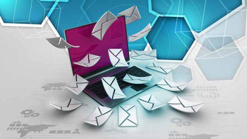 In der Geschäftswelt ist die E-Mail auch in Zukunft das wichtigste Kommunikationsmedium.