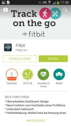 In Kombination mit einem Tracker wertet die App alle wichtigen Parameter aus.