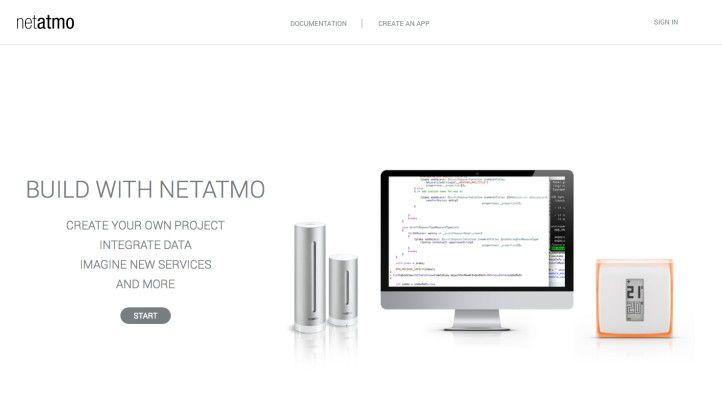 Wetterstation als App-Plattform: Die smarte Wetterstation Netatmo bietet Entwicklertools mit der Dritterhersteller Apps zum Beispiel für Wetterdienste und ähnliches entwickeln können.
