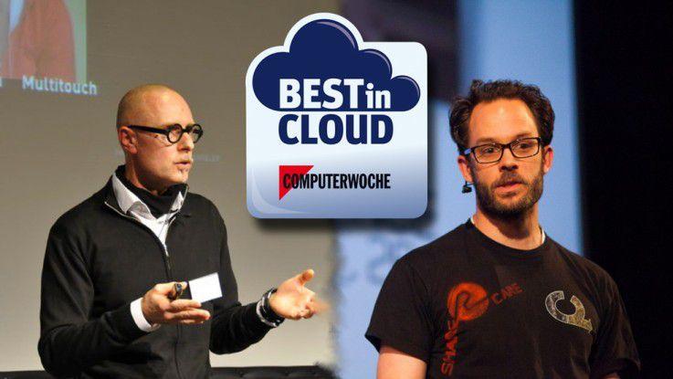 Professor Wolfgang Henseler und Daniel-Domscheit-Berg sprechen live bei Best in Cloud 2014