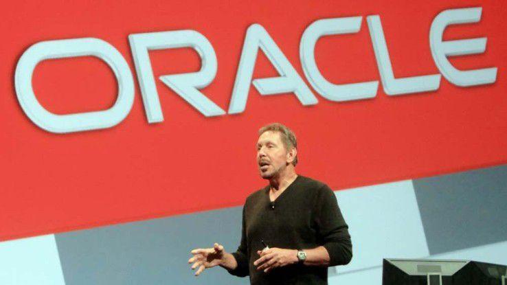 Gründer und Executive (!) Chairman Larry Ellison, Oracle OpenWorld 2014, San Francisco