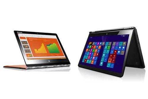 Weitere Neuvorstellungen: Das Convertible Lenovo Yoga 3 Pro und der Lenovo Thinkpad Yoga 14