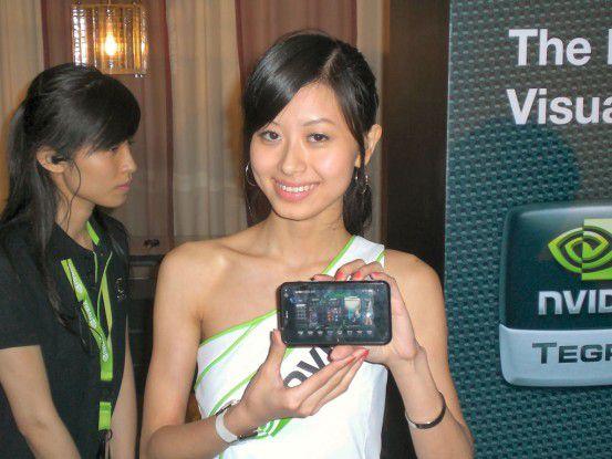 Nvidia will Tegra als Konkurrenz zu Intels Atom-Plattform installieren.