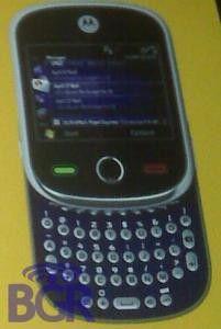 Motorola Alexander: Slider mit Qwertz-Tastatur