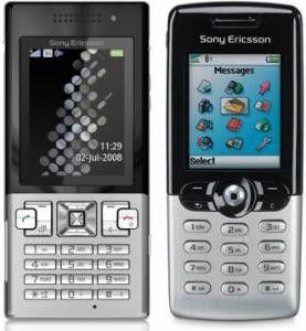 Ähnliches Outfit wie das T610, nur technisch auf neustem Stand: das Sony Ericsson T700.