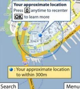 Google Maps für Blackberrys erkennt Standortdaten per WLAN