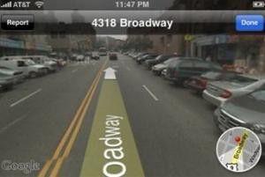 Die mit Spannung erwartete Version 2.2 bringt (angeblich) Google Streetview auf das Apple iPhone.