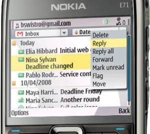 Nokia erweitert Angebot an E-Mail- und Messaging-Diensten.