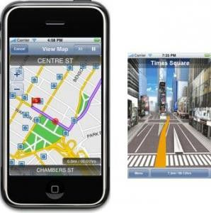 Taugt bislang nur für Trips in die USA: Die iPhone-Navi-Lösung G-Maps.