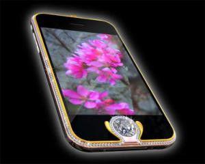 Teueres Unikat: Das iPhone Kings Button für 1,79 Millionen Euro.