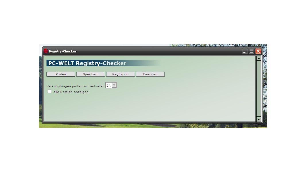 Die besten PC-Reiniger: PC-WELT Reg-Checker: Dieses HTA