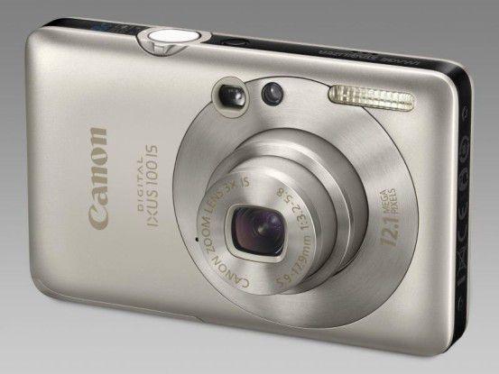 Canon Digital Ixus 100 IS: Superkompakte mit HDMI-Anschluss.