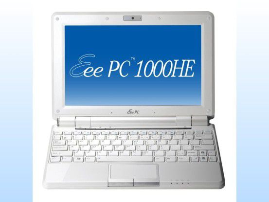 Netbook mit langer Akkulaufzeit: Asus Eee PC 1000HE im Test