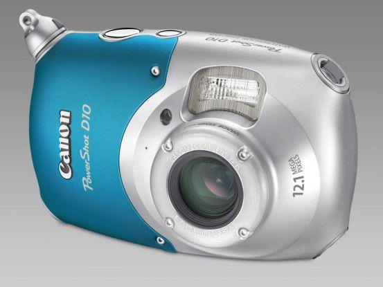Canon Powershot D10: Wasserfest und kälteresistent