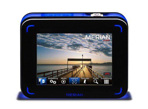 Brillanter Bildschirm: Merian Scout P_Navigator.