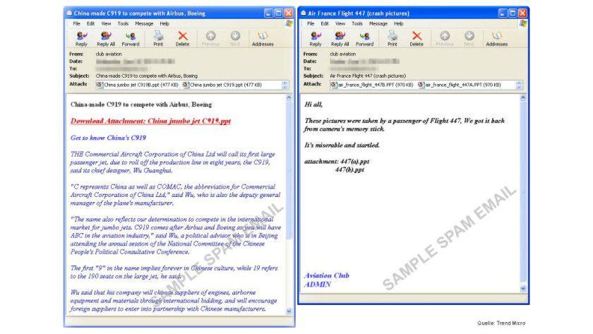 Malware-Spam mit PPT-Dateien