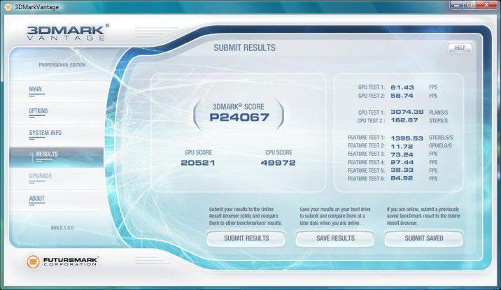 Deutlich bessere Ergebnisse mit SLI beim Systea SLI-Thorium G901 VHP64