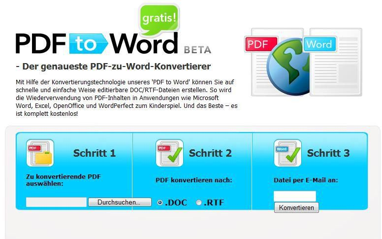 Bild Pdf To Word Free