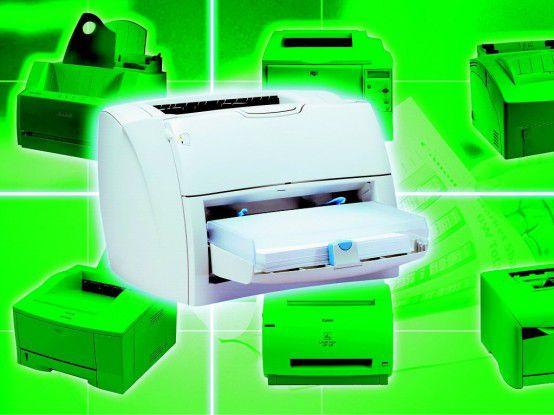 Die besten Farblaserdrucker bis 300 Euro im Test.