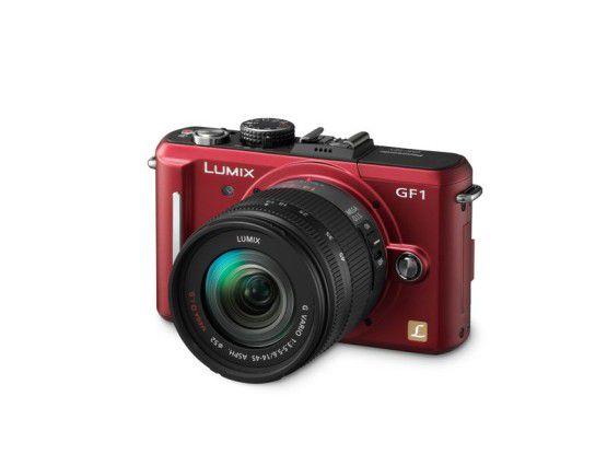 Panasonic DMC-GF1: Komapktkamera mit Wechselobjektiven