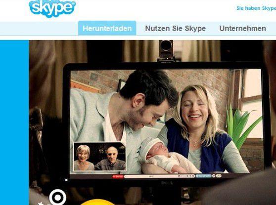 Künftig nur noch mit der aktuellen Version nutzbar: Skype