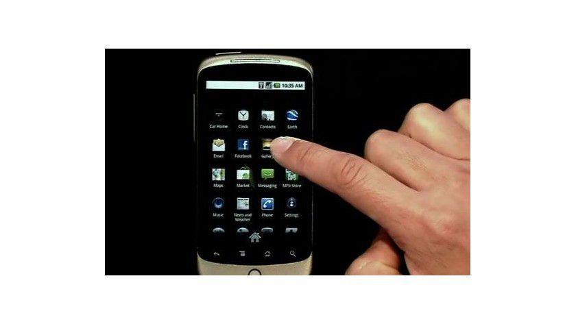 Google Nexus One: Das erste Google-Smartphone verfügt über einen Touchscreen.