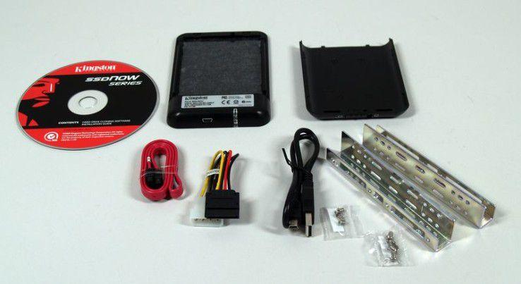 Mehrwert: Lieferumfang der B-Variante der Kingston SSD Now V+ SNVP325-S2