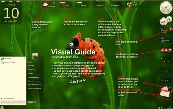 Windows 7 schöner machen: Mit Chameleon Glass kein Problem
