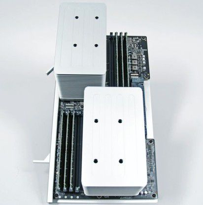 Apple Mac Pro: 2 CPUs und 12 GB RAM
