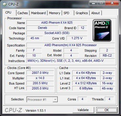 Medion Akoya P7350 D MD 8860: CPU