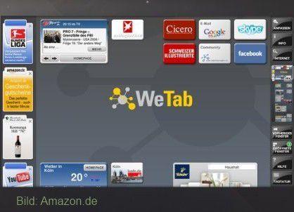 WeTab: Pannen bei der Präsentation, Namensänderung und Lieferverzögerungen. (Quelle: WeTab GmbH)