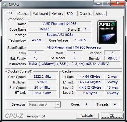 Prozessor des Kiebel KCShome premium quad