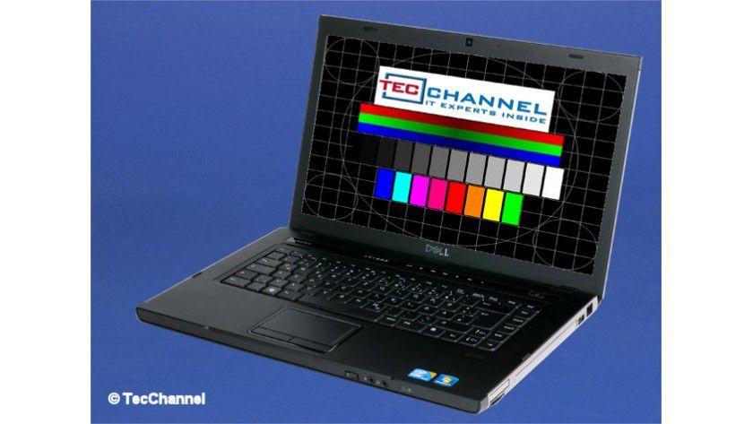 Dell Vostro 3500: Das 15,6-Zoll-Display arbeitet mit LED-Hintergrundbeleuchtung und einer Auflösung von 1366 x 768 Bildpunkten.