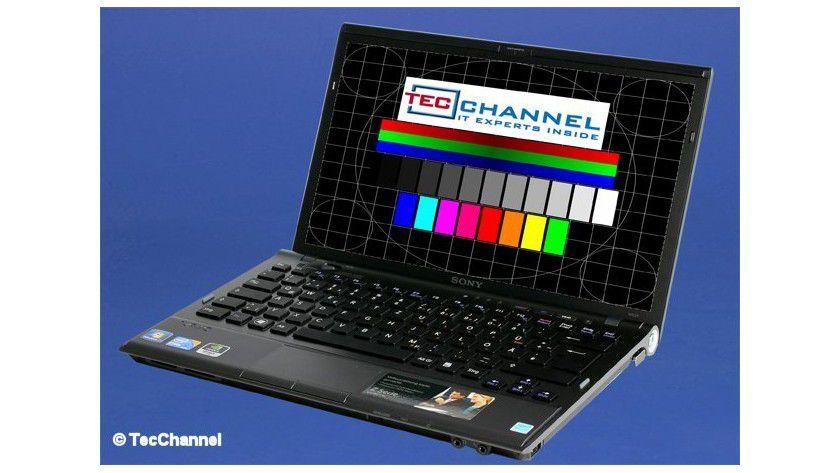 Sony VPCZ11X9E: Das 13,1-Zoll-Display arbeitet mit LED-Hintergrundbeleuchtung und einer Auflösung von 1600 x 900 Bildpunkten.